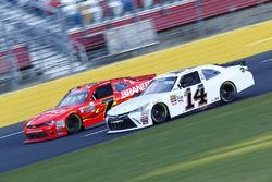 Jeff Green, Toyota, Justin Allgaier, JR Motorsports Chevrolet