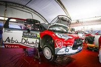 WRC Photos - Citroën World Rally Team area