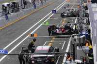 European Le Mans Photos - Atmosphere in the pitlane