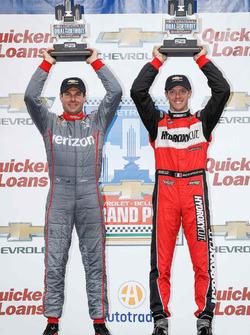 Will Power, Team Penske Chevrolet, Sébastien Bourdais, KV Racing Technology Chevrolet