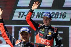 Podium: third place Thierry Neuville, Hyundai Motorsport