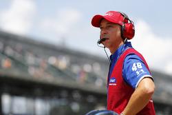 Chad Knaus, crew chief for Jimmie Johnson, Hendrick Motorsports Chevrolet