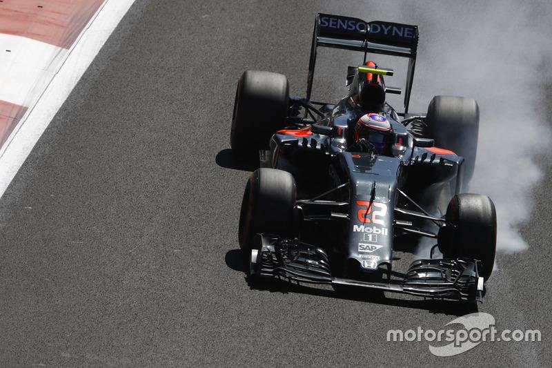 7. Jenson Button, McLaren MP4-31