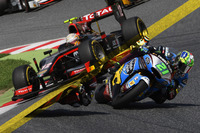 GP2 Photos - Moto2/GP2 illustration comparing the two series