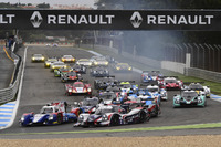 European Le Mans Photos - Start action