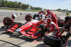 Carlos Munoz, Andretti Autosport Honda pit action