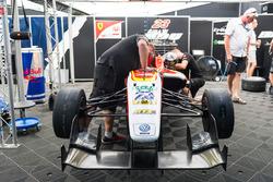 周冠宇的F3赛车
