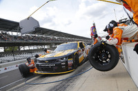 NASCAR XFINITY Photos - Kyle Larson, Chip Ganassi Racing Chevrolet, pit action