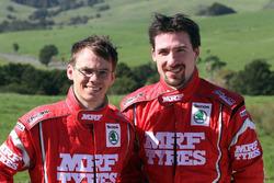 Fabian Kreim and Frank Christian, Team MRF