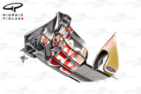 Formula 1 Photos - Toro Rosso STR11 front wing, Belgium GP
