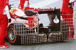 Kimi Raikkonen, Ferrari SF16-H running sensor equipment on the rear wing