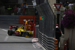 Sean Gelael, Campos Racing climbs out of his car