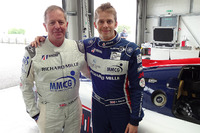 Le Mans Photos - Martin Brundle and Alex Brundle