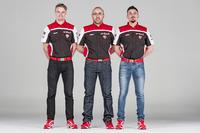 WSBK Фото - Час Дэвис, Стефано Чеккони и Давиде Джулиано