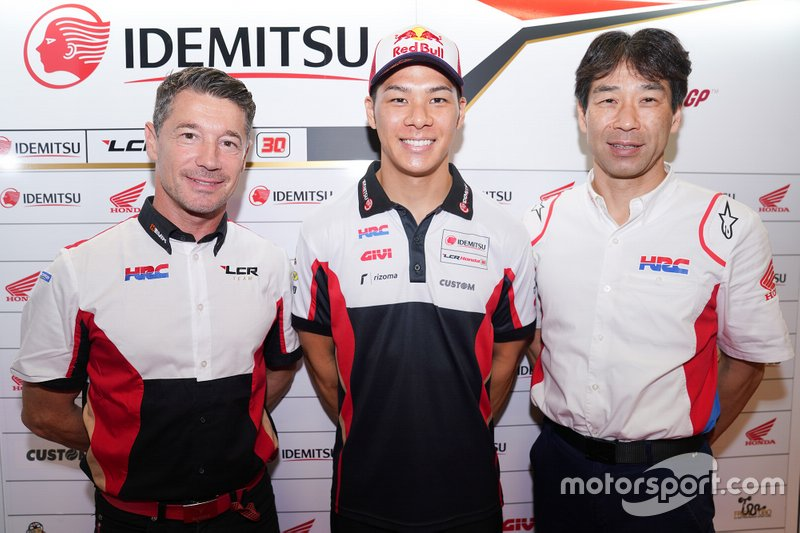 Le pilote motoGP Johann Zarco passe chez Honda