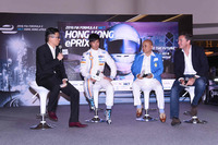 Formula E Photos - Ma Qing Hua, Team Aguri, Alejandro Agag, CEO Formula E