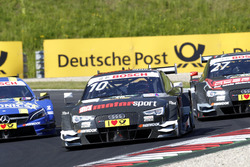 Timo Scheider, Audi Sport Team Phoenix, Audi RS 5 DTM; Gary Paffett, Mercedes-AMG Team ART, Mercedes-AMG C63 DTM; Adrien Tambay, Audi Sport Team Rosberg, Audi RS 5 DTM