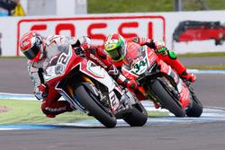 Leon Camier, MV Agusta Reparto Corse and Davide Giugliano, Aruba.it Racing - Ducati Team