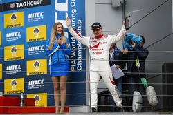 Podium: Norbert Michelisz, Honda Racing Team JAS, Honda Civic WTCC