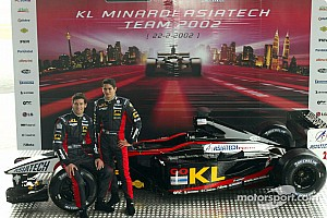 Formula 1 KL Minardi Asiatech PS02 launched in Malaysia