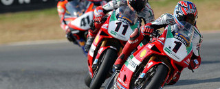 Troy Bayliss now six for six