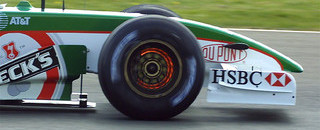 Teams testing at Silverstone 2002-04-16