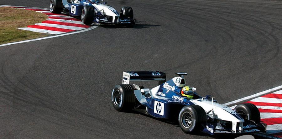 Montoya and Ralf race harder