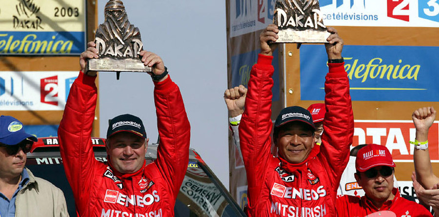 Masuoka, Sainct, Tchaguine repeat as Dakar winners
