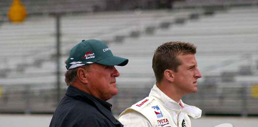 IRL: A.J. IV's learning curve at Indy