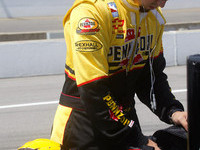 IRL: Hornish plans for his future quietly