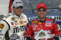 Biffle, Sadler lock front row for Daytona 500