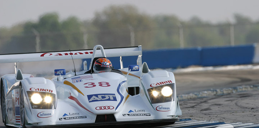 Champion Audi leads after three hours at Sebring