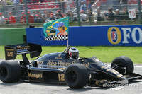 Emotional Imola drive for Berger