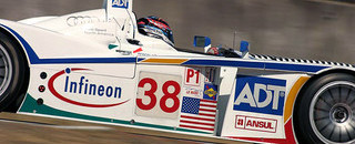 ALMS Lehto, Werner battle hard to win at Portland