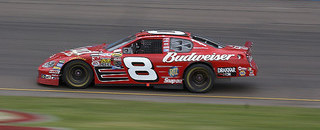 NASCAR Sprint Cup Earnhardt soars in darkness to PIR win
