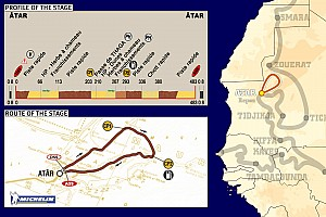 Dakar: Stage 10 Atar to Atar notes