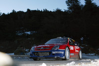 Loeb takes third Monte Carlo win in a row