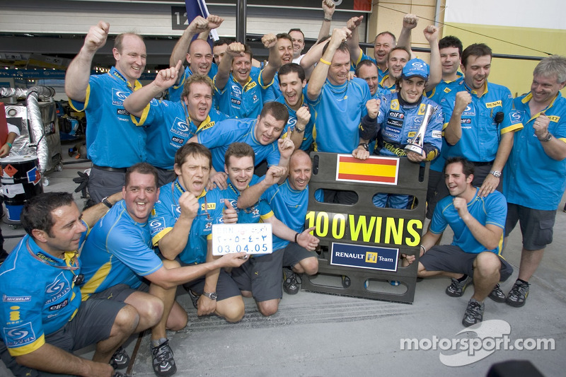 Faure praises Alonso and team partners