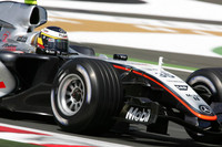 De la Rosa top in British GP first practice