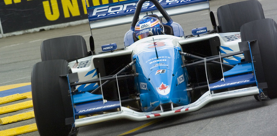 CHAMPCAR/CART: Tracy locks in the pole on the streets of Denver