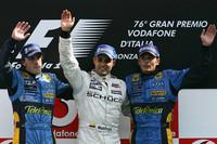 Montoya wins tense Italian GP