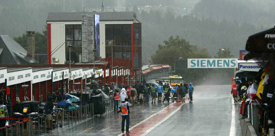 Rain washes out Belgian GP second practice