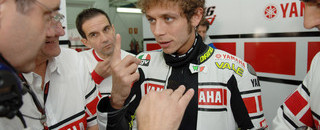 Rossi happy with latest Ferrari test