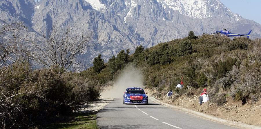Loeb stretches Tour de Corse lead