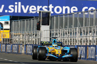 Fisichella fastest as Silverstone test closes