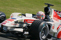 Button top at close of Monza test