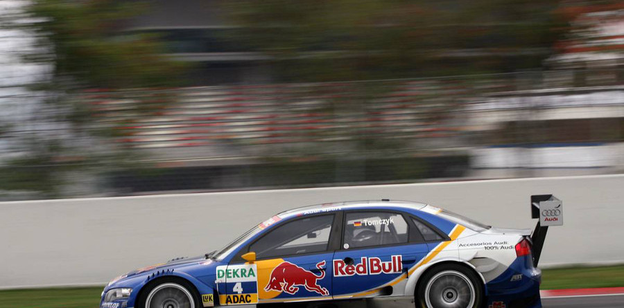 Tomczyk leads Audi trio in Barcelona qualifying