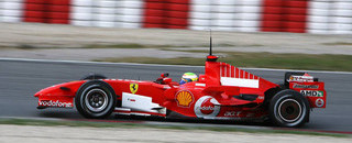 Massa leads at Barcelona test