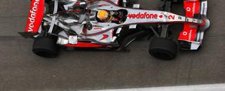 Hamilton top in mixed conditions at Sepang
