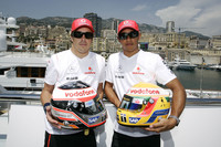 McLaren sets early Monaco GP pace